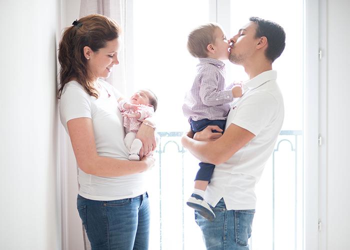 La famille bonheur - Audrey, Julien, Joey et Aimy