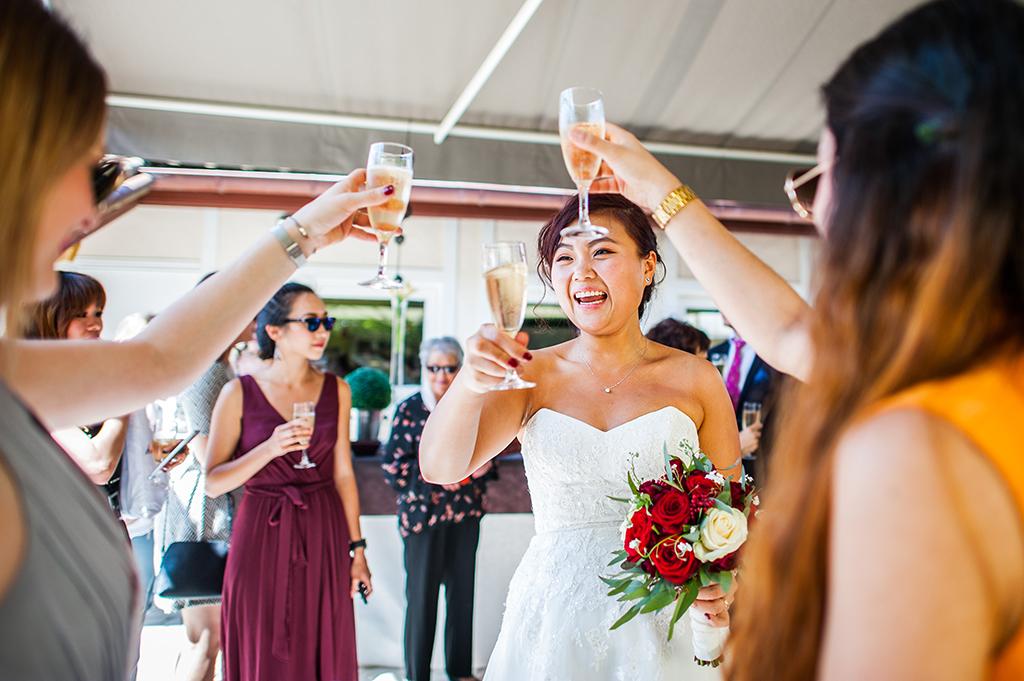 Reportage photo de mariage Landes Auberge d'Ugne champagne