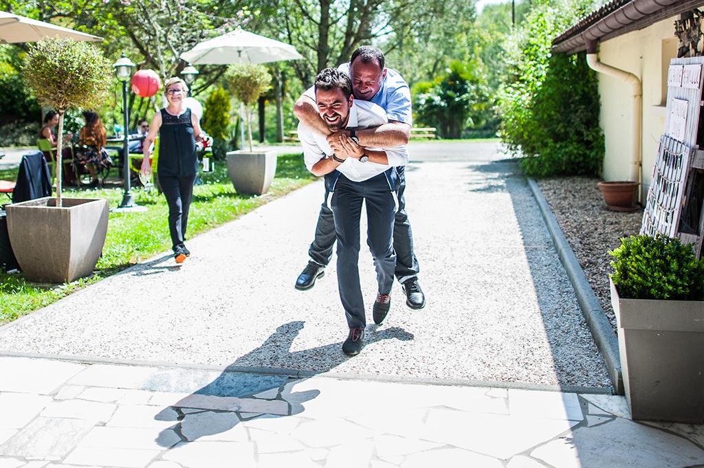 Reportage photo de mariage Landes Auberge d'Ugne
